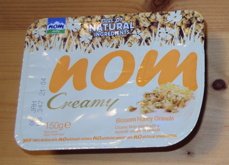 Nom yoghurt!